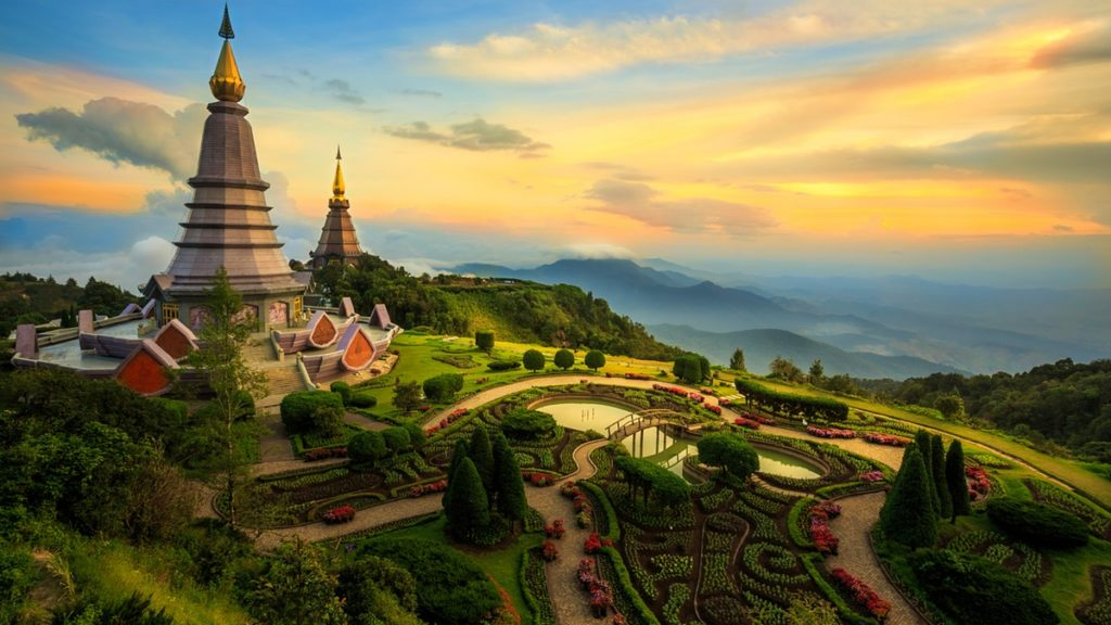 Doi Inthanon in Chiang Mai Thailand