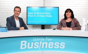 write for business show